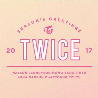 Twice 2017 Season's Greetings (Official)