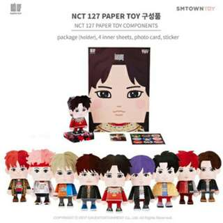 NCT 127 Official Paper Toy