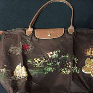 Longchamp Bag With Embroidery