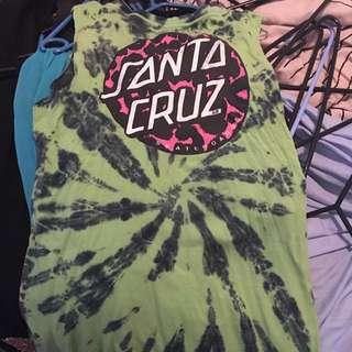 Santa Cruz Tie Die, Size 12