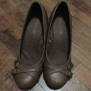 Brown Wedges Payless