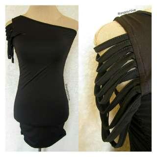 One Arm Sexy Dress