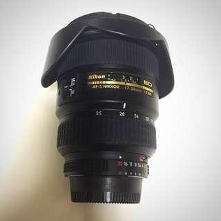 Nikon AF-S 17-35mm f2.8D ED