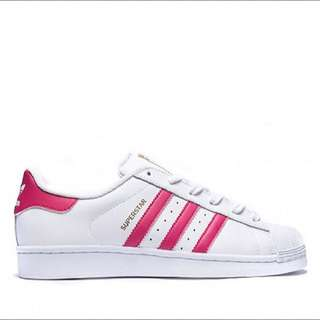 [PO] Adidas Superstar White/Pink