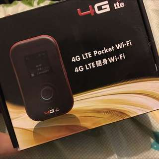 4G Lite 隨身pocket wifi 路由器