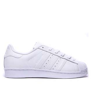 [PO] Adidas Superstar Triple White