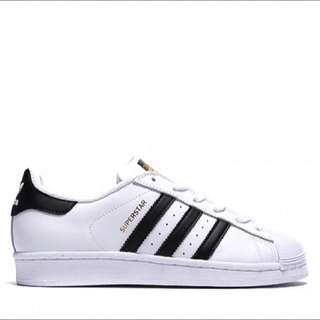🔥[PO] Adidas Superstar White Black Foundation