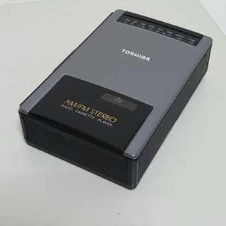 Toshiba Radio Cassette Player