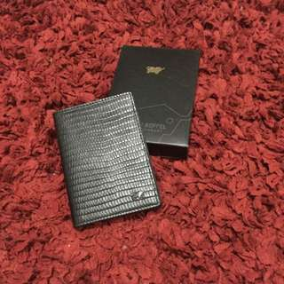 Braun Buffel Authentic Card Wallet
