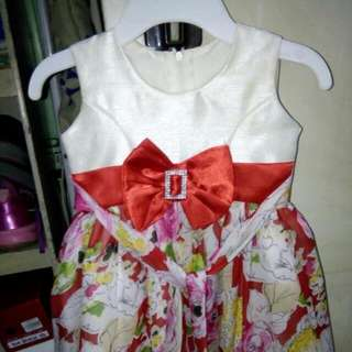 Baby Dress Fits 8 Mos To 2yrs Old