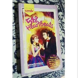 548 Heartbeats by peachxvision (pop fiction)