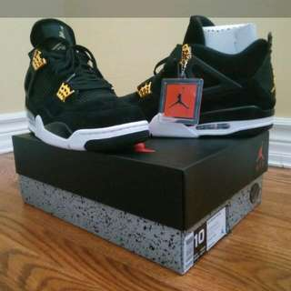 Air Jordan 4 Royalty Size 10 *DEADSTOCK*