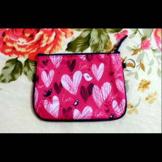 Coin Purse - hearts design (actual price php99)
