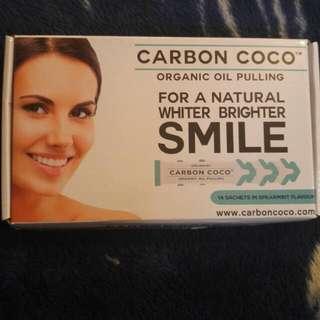 Carbon Coco Organic Oil Pulling Teeth Whitener