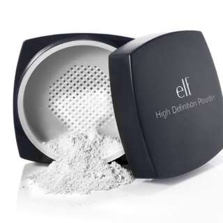 NEW INSTOCK ELF HD Powder Sheer
