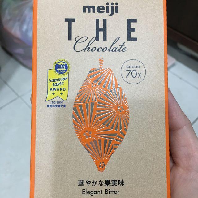 日本熱銷 明治mejiTHE Chocolate濃黑巧克力70%
