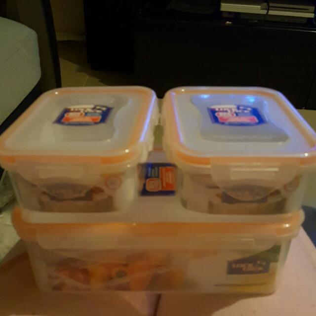 Lock&Lock食物膠盒