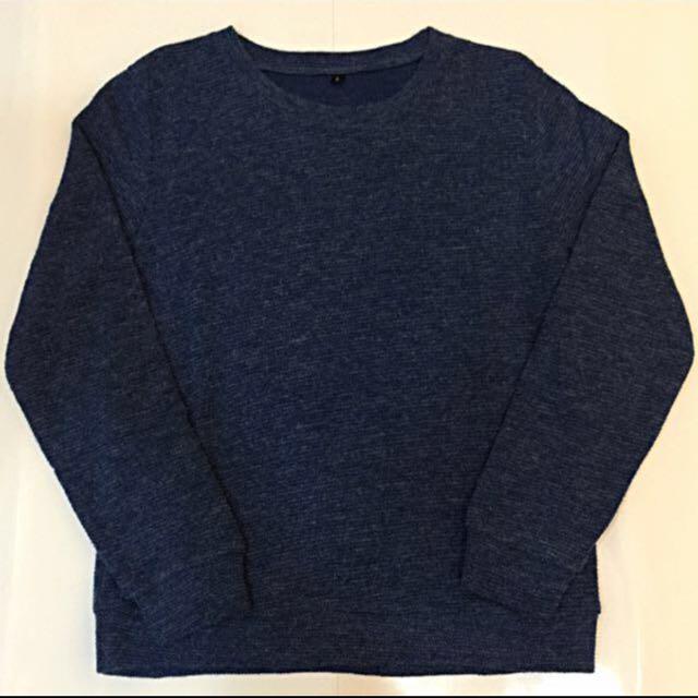 🔸海藍色毛衣