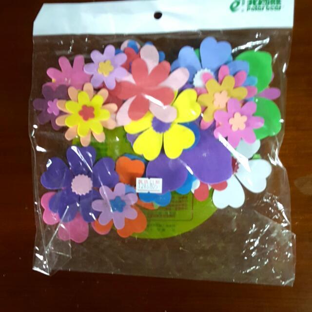 教室佈置   花