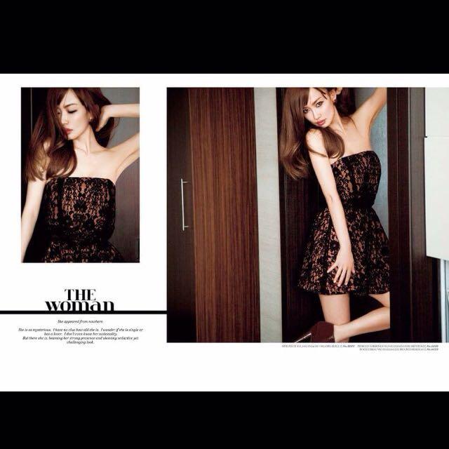日貨 Lilidia 氣質華麗 洋裝