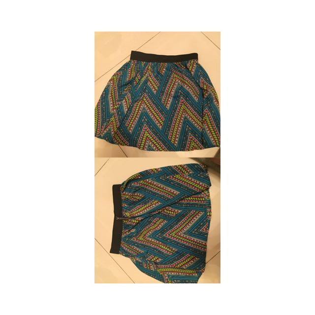 ABSTRACT PATTERN SKIRT