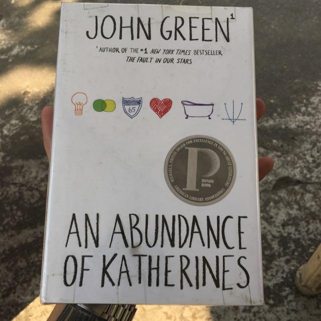 Abundance Of Katherines - Hardbound