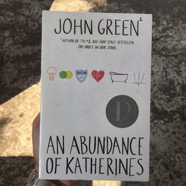 Abundance Of Katherines - Softbound
