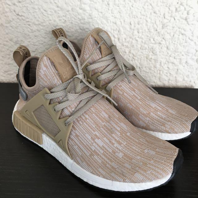 newest bce43 99de6 Adidas NMD XR1 Linen (UK9, US9.5), Men's Fashion, Footwear ...