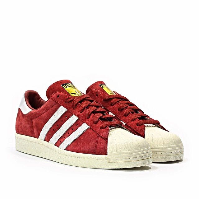 6fd9d09e46aefd Adidas Superstar Red Suede Pack US12.5