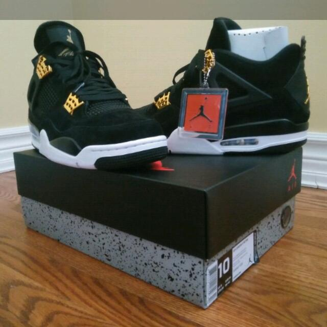 Air Jordan 4 Royalty Size 10 *DEADSTOCK*