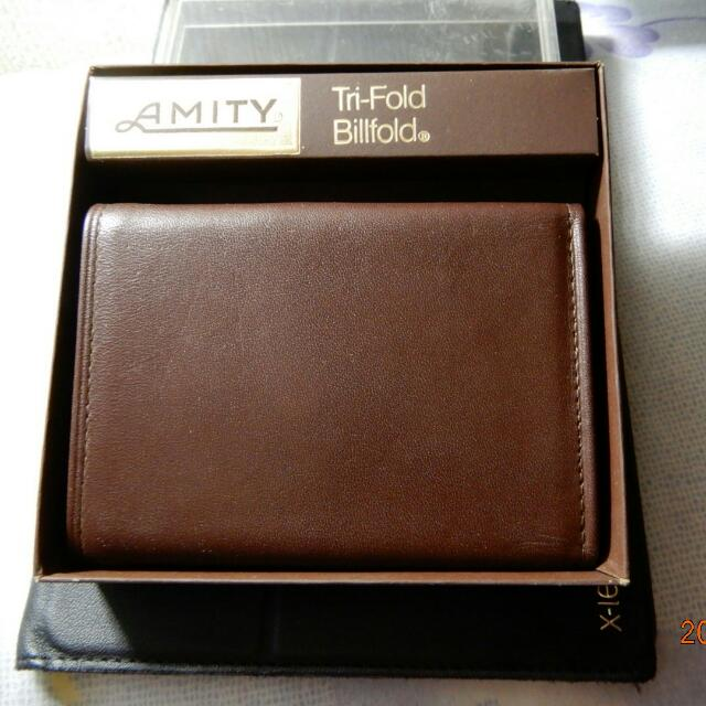 Amity Leather Wallet