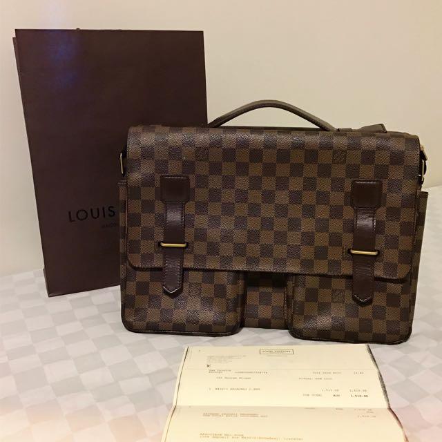 Authentic With Receipt Louis Vuitton Broadway Messenger Bag
