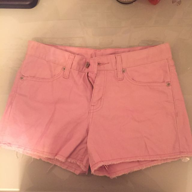 BABY PINK SHORTS (size:M)