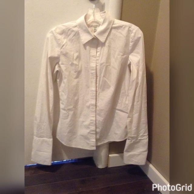 Banana Republic White Shirt