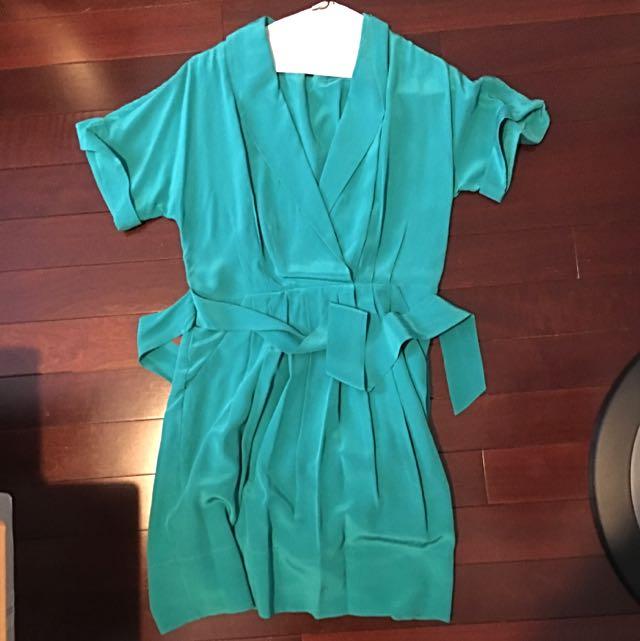 BCBG Silk Dress - Size 02
