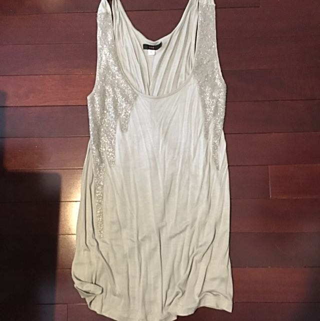 Beaded Urban Outfitters Top (LUX) Size Small