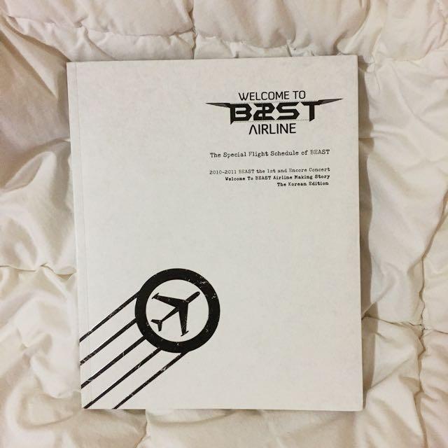 BEAST First Concert Making Book