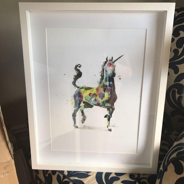 Beautiful Glass Framed Print