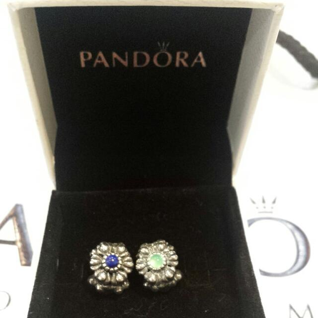 Blue And Green Pandora Charms
