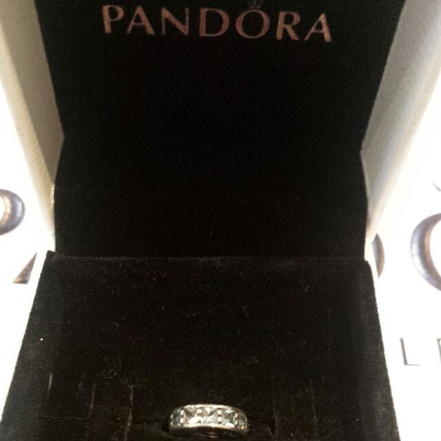 Blue Pandora Spacer Charm