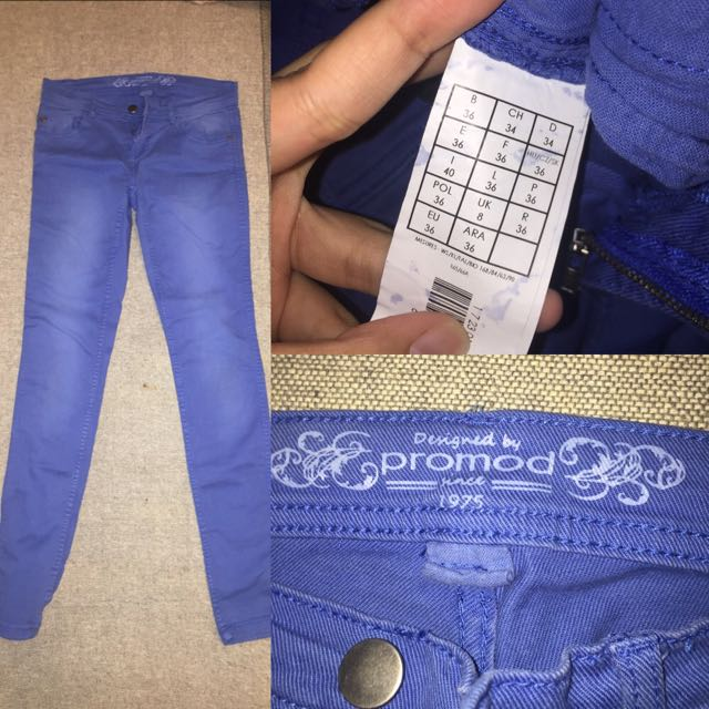 BLUE PANTS PROMOD