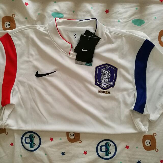49c26a694 Price Reduced  BN Authentic Nike Dri-fit South Korea Soccer Jersey ...