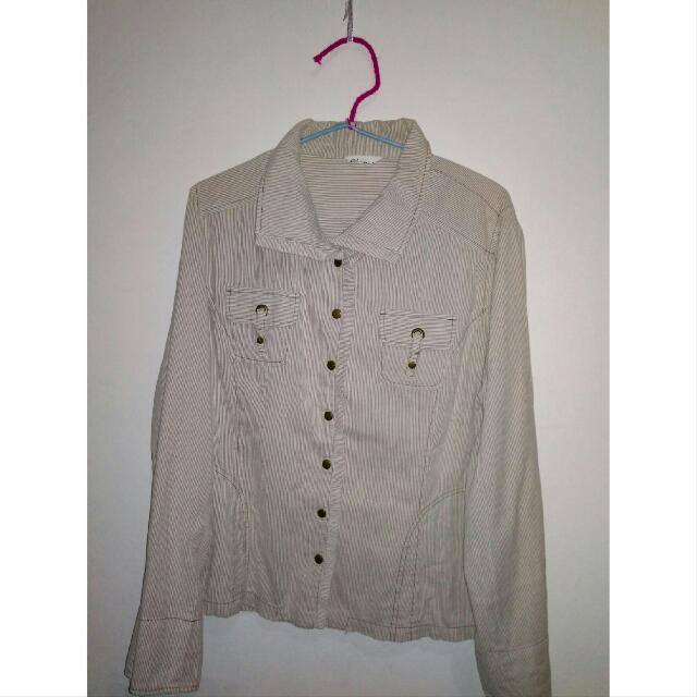 Brown Stripes Shirt