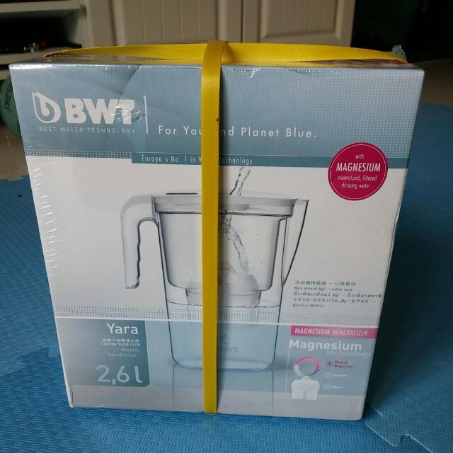 BWT 德國倍世鎂離子除鉛濾水壺2.6L