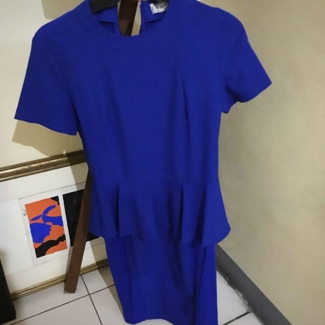 Calypso Royal Blue Dress