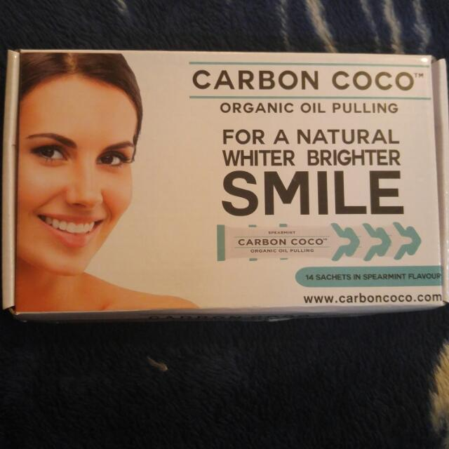 Carbon Coco Organic Oil Pulling Teeth Whitener
