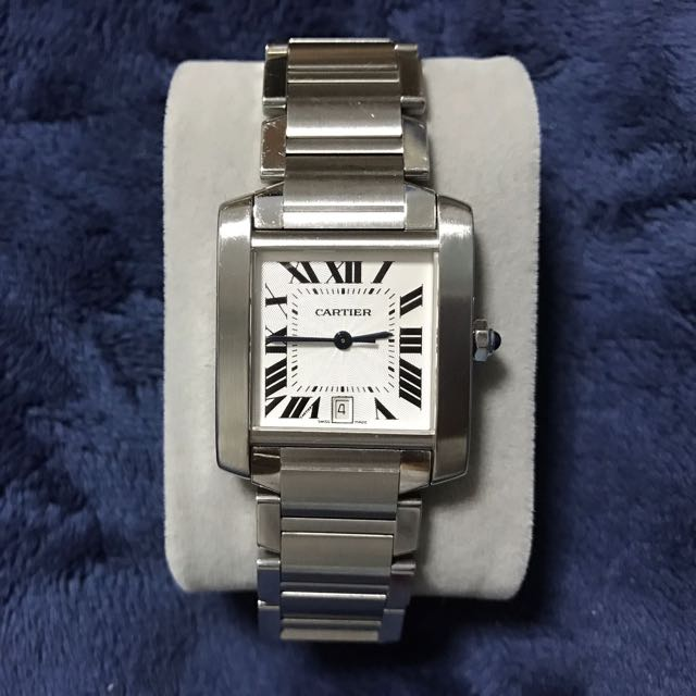0a4a49b7c4078 Cartier Tank Francaise Automatic SS Large 2302