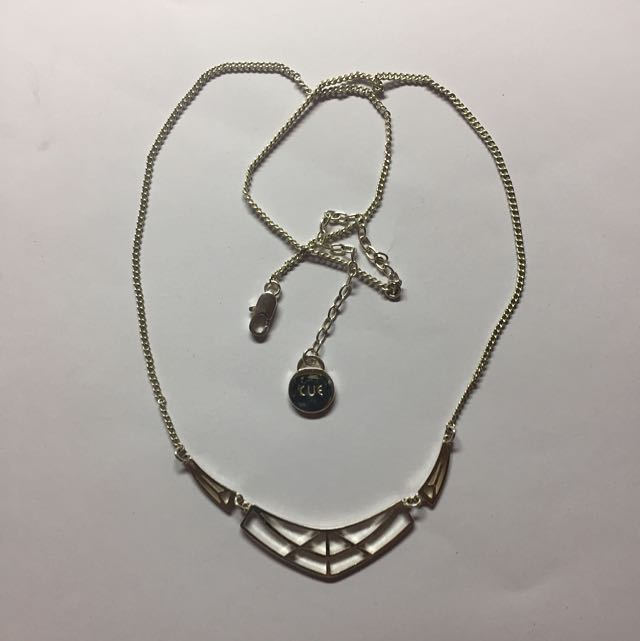 Cue/Peter Lang Silver Necklace