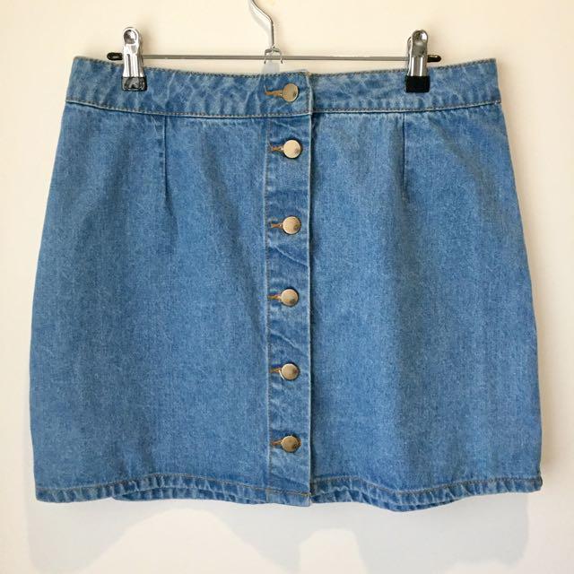 SIZE 12 Denim Skirt