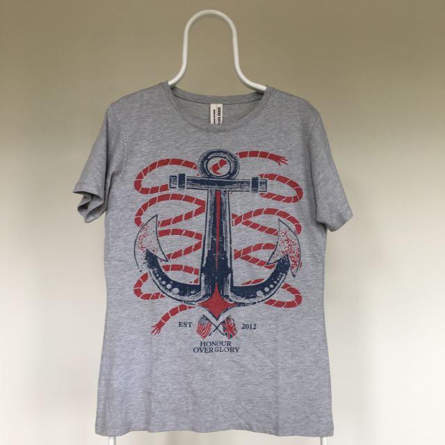 Eddie Van Halen Anchor T-Shirt